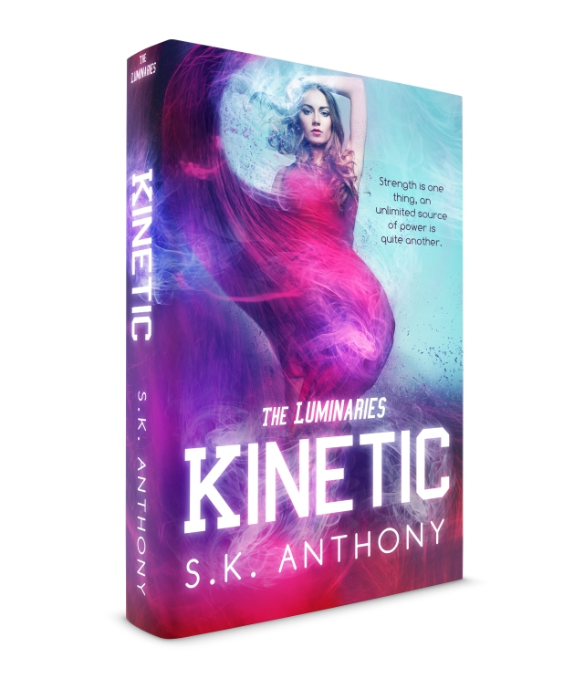 Kinetic-by SK Anthony hardback